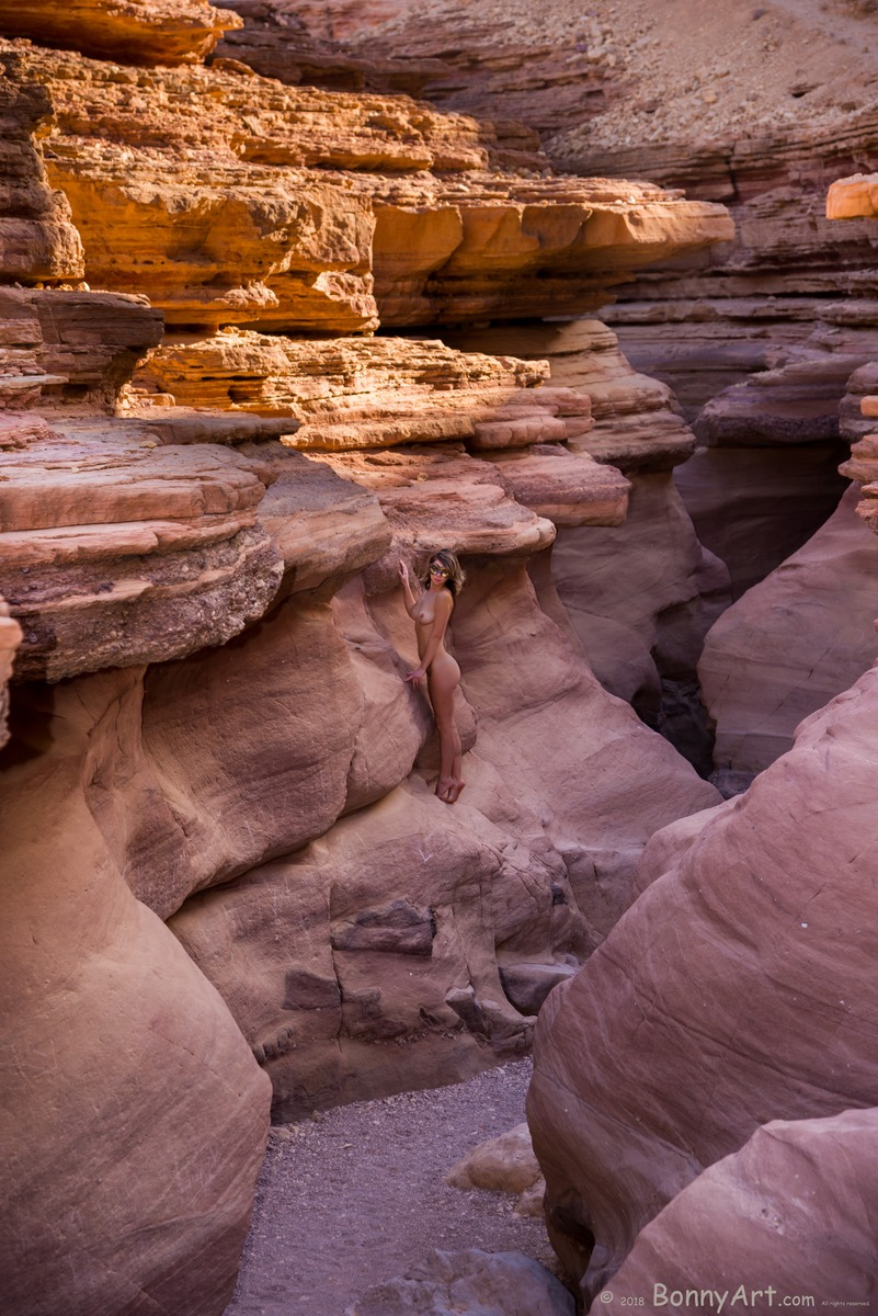 Nude Girl at the Red Canyon